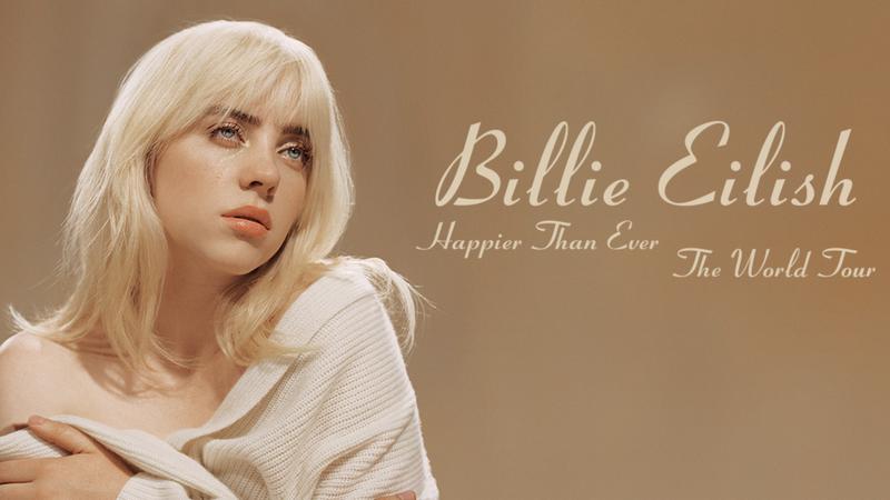 billie eilish Happier Than Ever tour