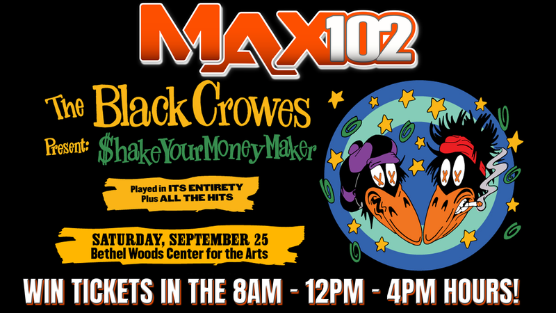 Win Black Crowes Tickets