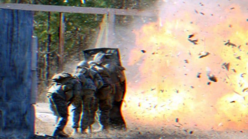 Marine Corps explosive breaching