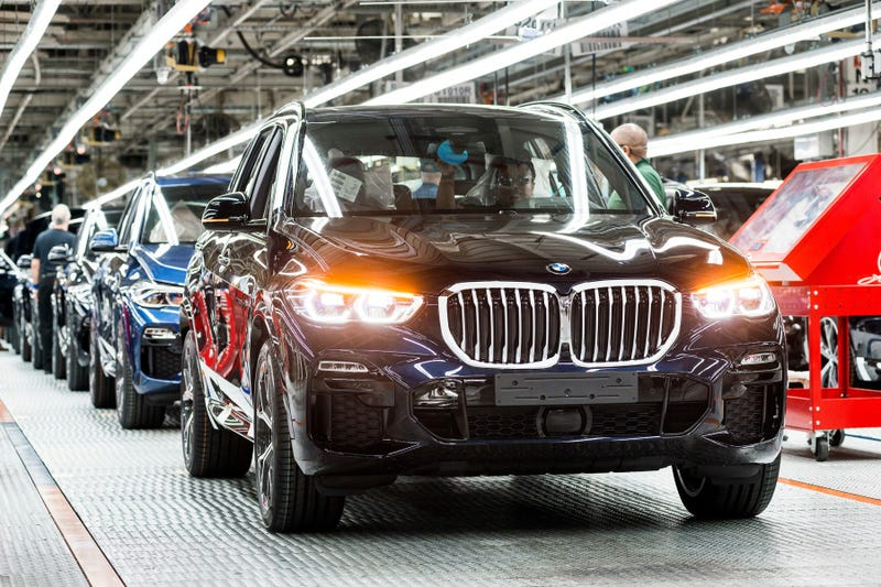 BMW Manufacturing extending its production interruption.
