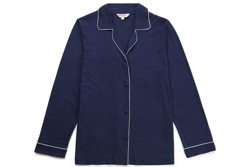 A soft Bonsoir Pajama top