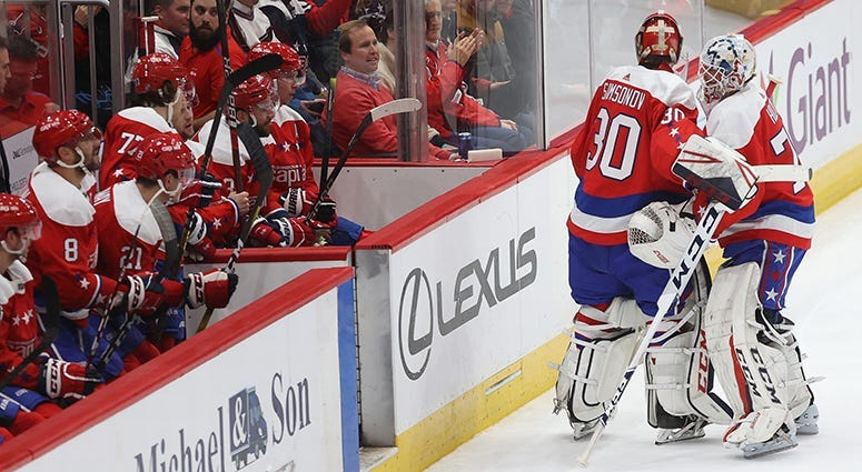 Capitals Still Have Faith In Holtby He S No Quitter
