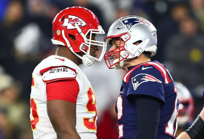Tom Brady, Chris Jones
