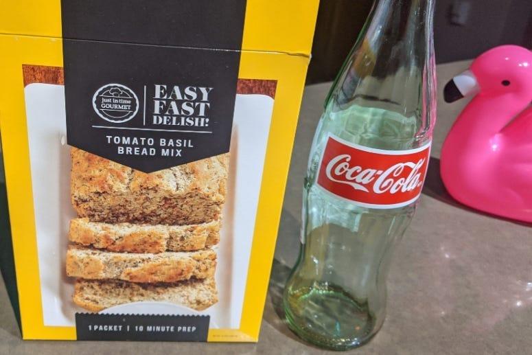 Bread Mix and Coca Cola Pizza Crust