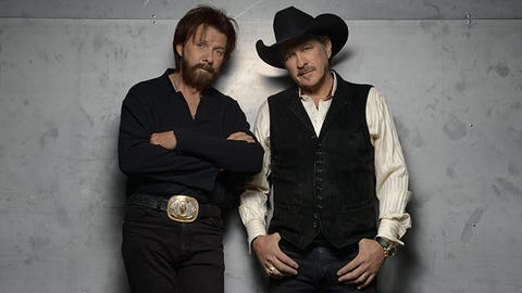 Brooks & Dunn in Raleigh and Charlotte