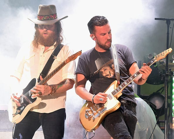 Brothers Osborne, Duo, Free, Concert, YouTube, Livestream, Friday, Country Music