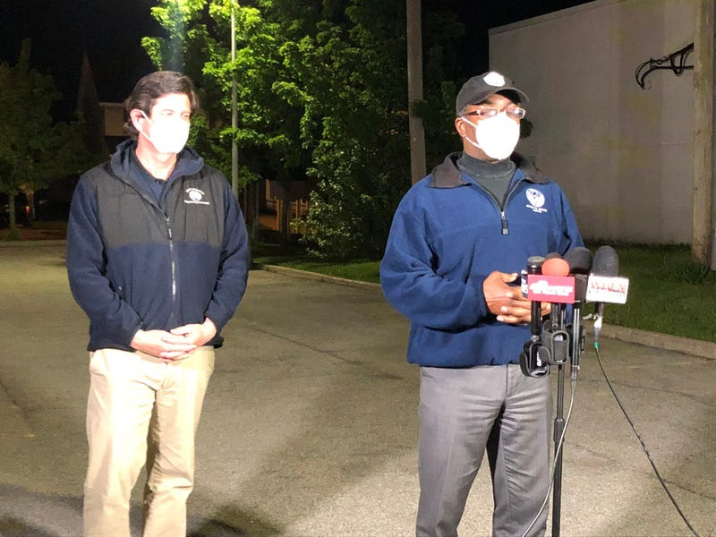 Mayor Brown & County Executive Poloncarz Provide Late-Night Update