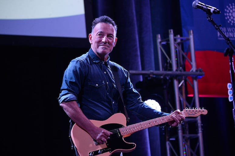 The Story Behind Bruce Springsteen S Iconic Born In The U S A Album Cover