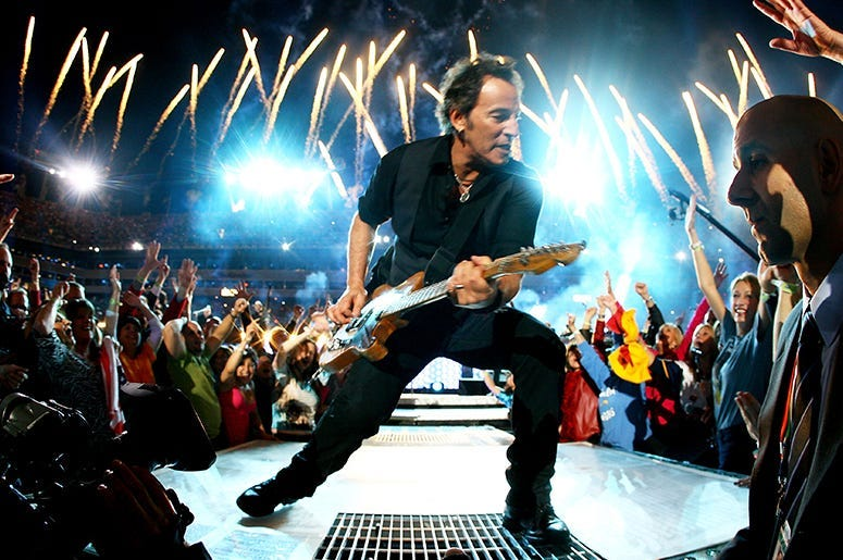 Bruce Springsteen, Classic Rock, Icons