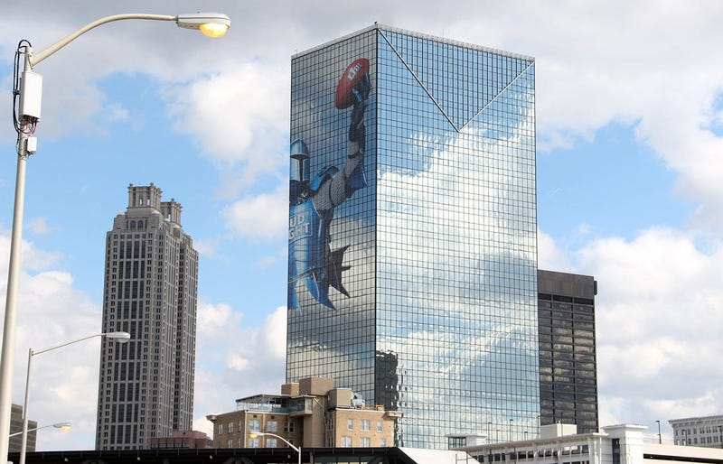 Buildings Near Super Bowl 53