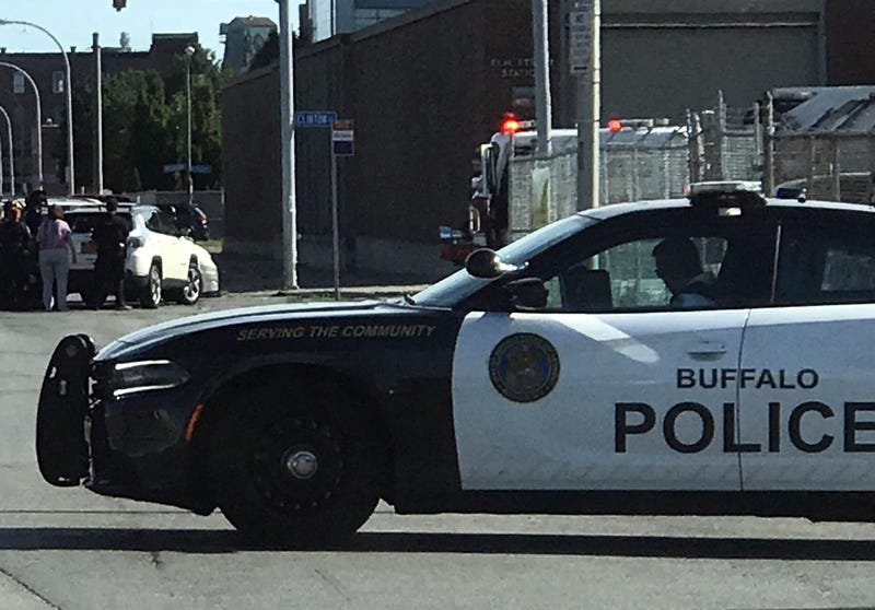 Buffalo Police Vehicle