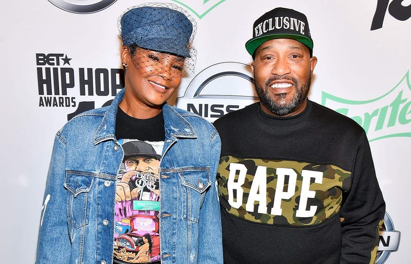 Rapper Bun B and his wife Queenie