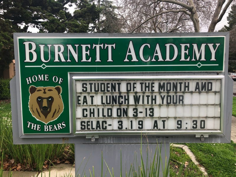 Critics say that Burnett Academy middle school should change its name to avoid association with Peter Burnett, the first governor of California who had racist views.