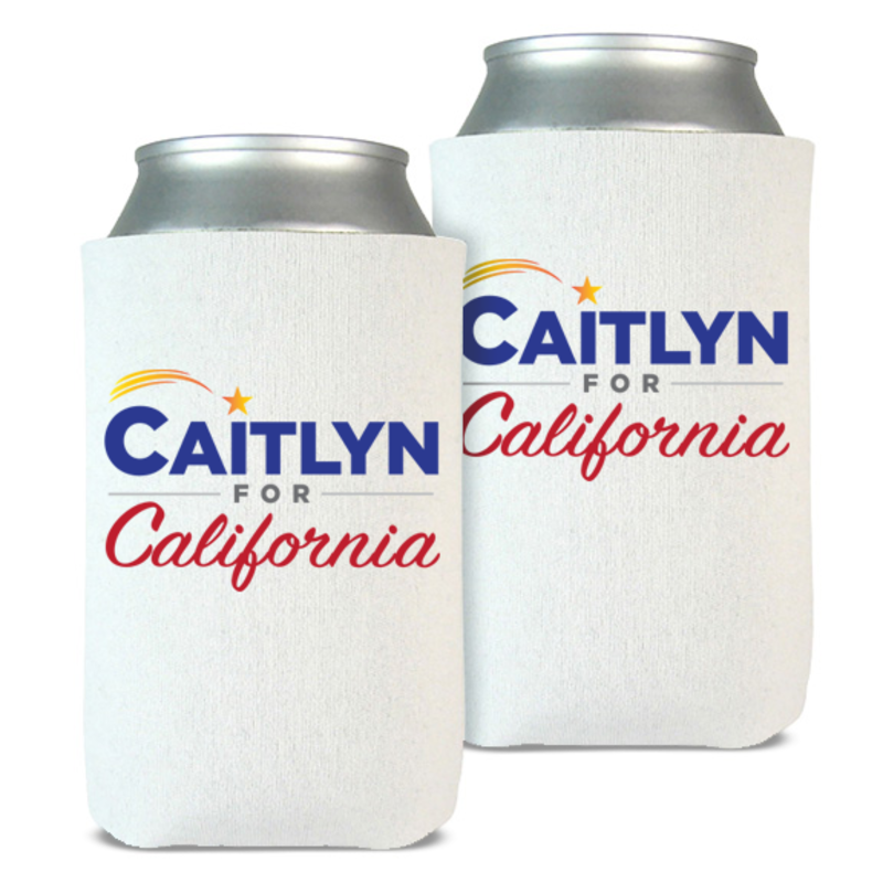 Caitlyn for California beverage coolers (set of 2), $15