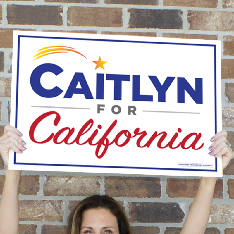 Caitlyn for California rally signs (set of 2), $25