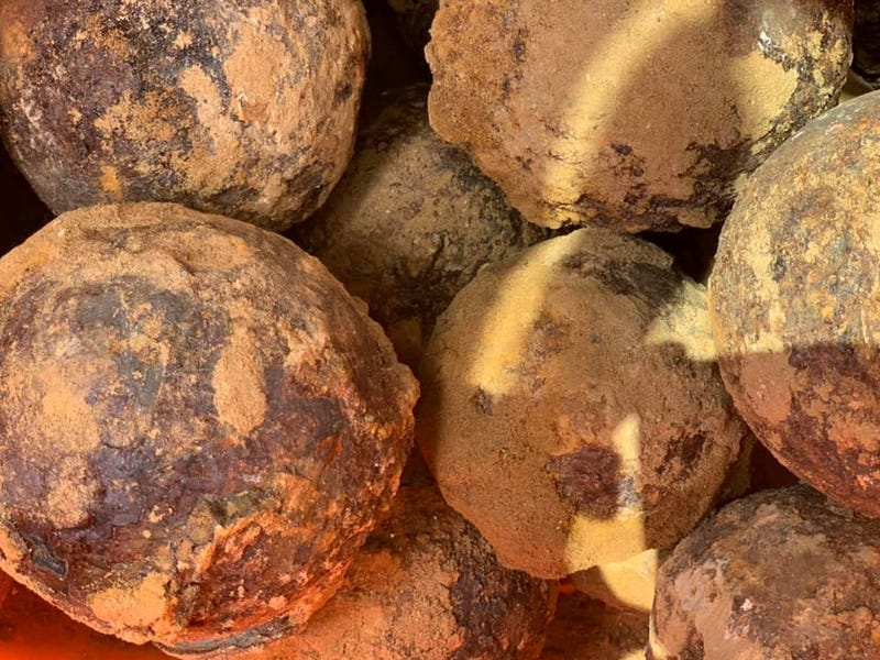 Cannonballs discovered in Lawrenceville