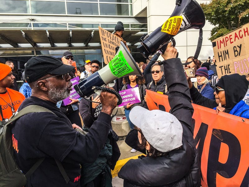 Carl Dix with Refuse Fascism says people should be taking to the streets demanding 'Trump Pence Out Now'