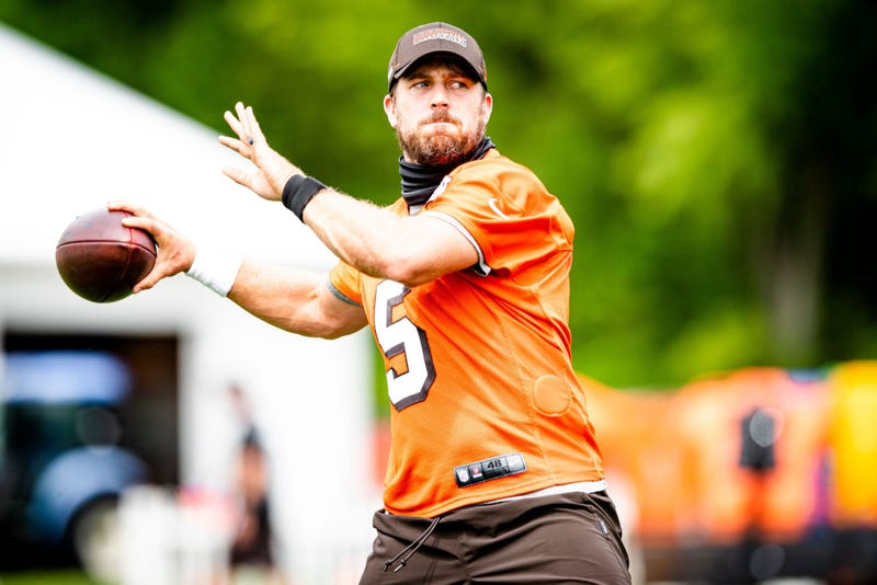 Cleveland Browns quarterback Case Keenum