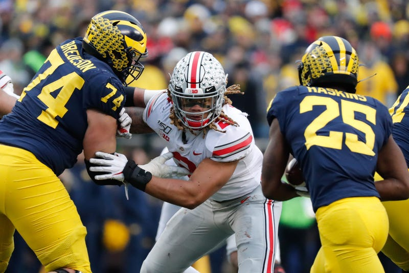 Chase Young Ohio State Michigan