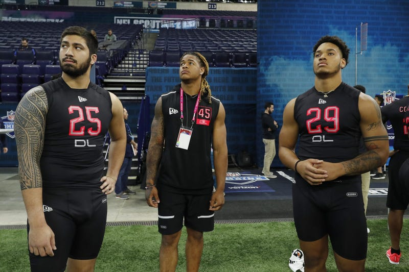 Chase Young NFL Combine