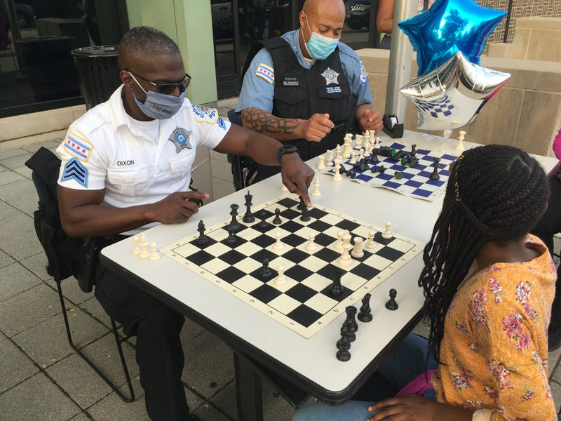 Chess games with cops