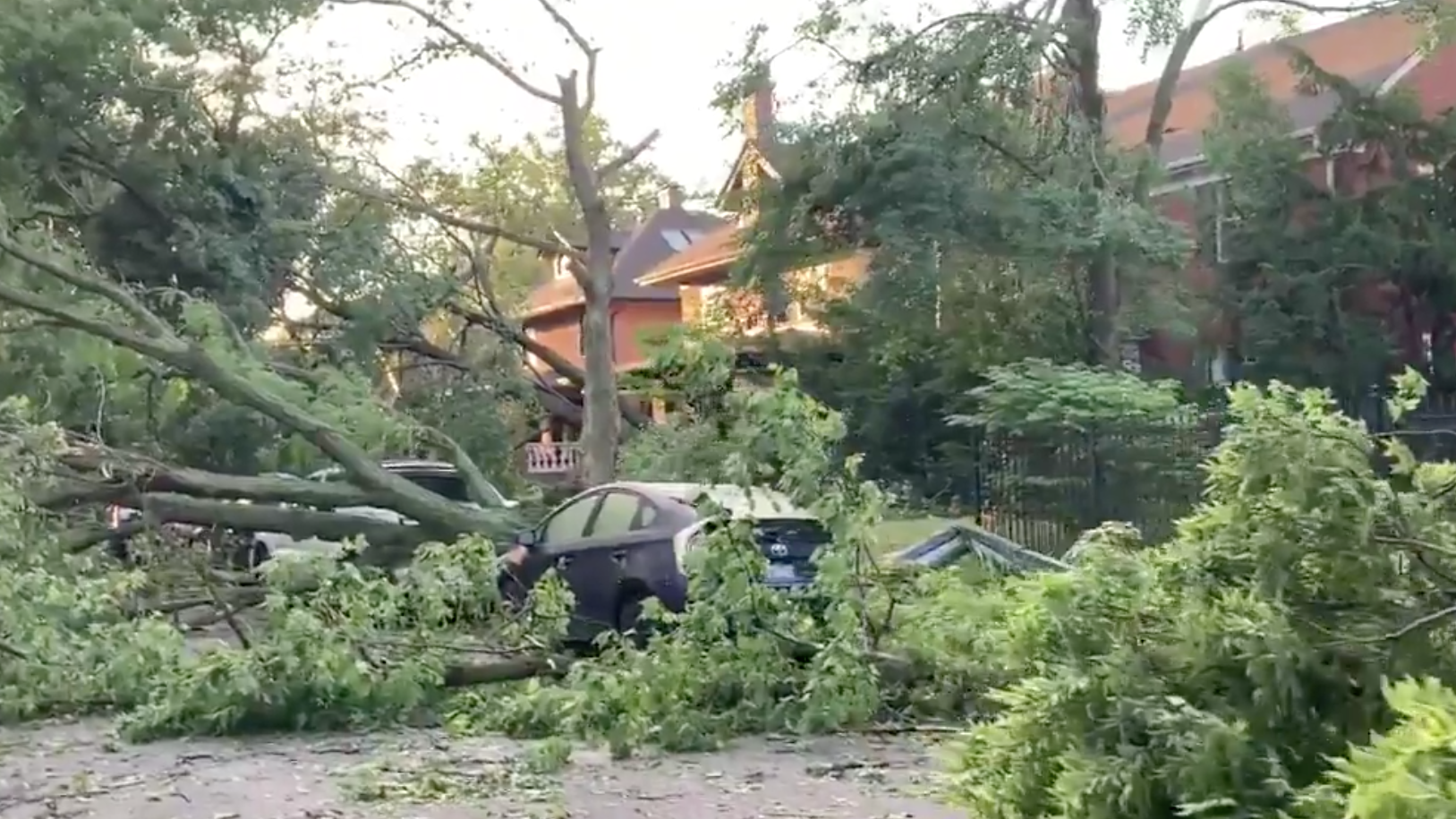 National Weather Service Confirms Tornado Touches Down in Chicago Area