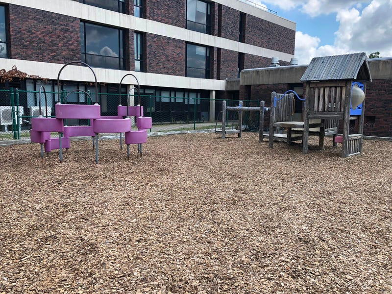 Playground at Buffalo State College. July 24, 2020 (WBEN Photo/Mike Baggerman)