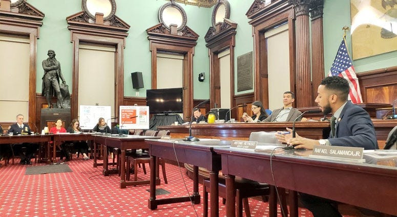 City Council Hearing On Congestion