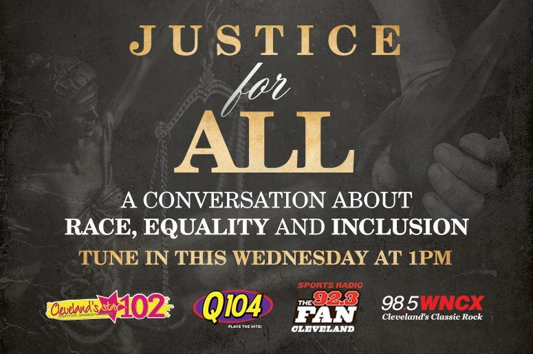 Justice For All: A Conversation about Race, Equality and Inclusion