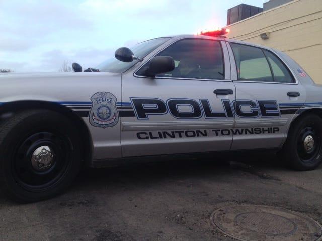Clinton Township Police Car