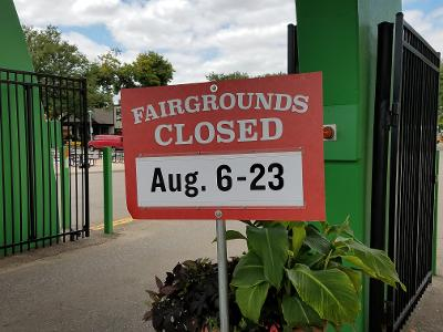 closed state fairgrounds
