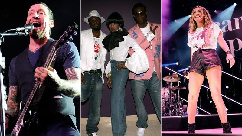 Volbeat, Fugees, Carley Pearce