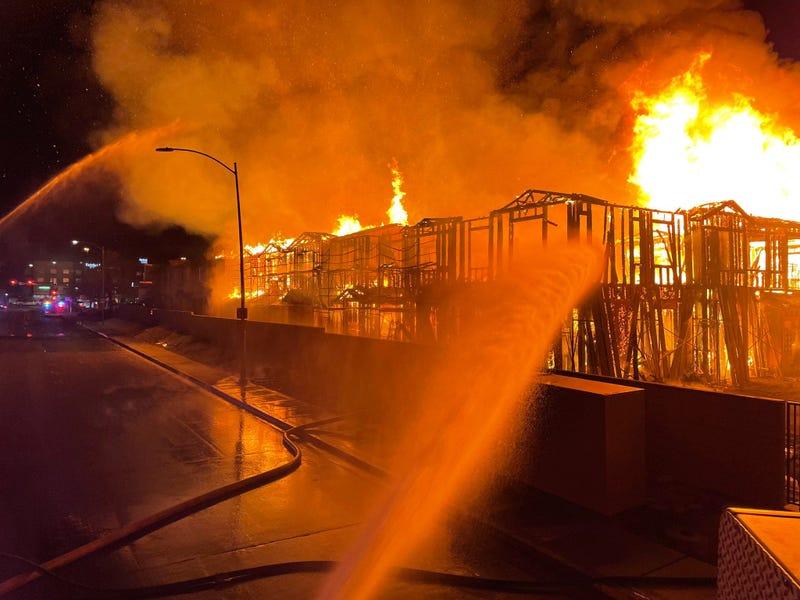 Condo fire from 1-7-21