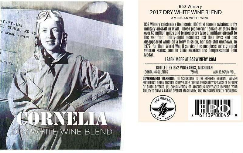 Cornelia Wine Label