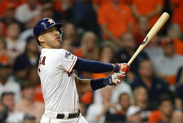 Carlos Correa blasts a walk-off home run in the ALCS.