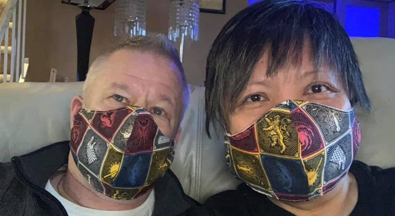 Masks by Cristina Kjos