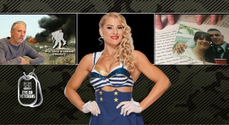 Marine veteran and WWE wrestling superstar Lacey Evans, Love Letters and Wounded Warrior Project fights to protect veterans who had toxic exposure