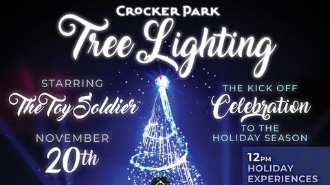 Crocker Park Tree Lighting 2021