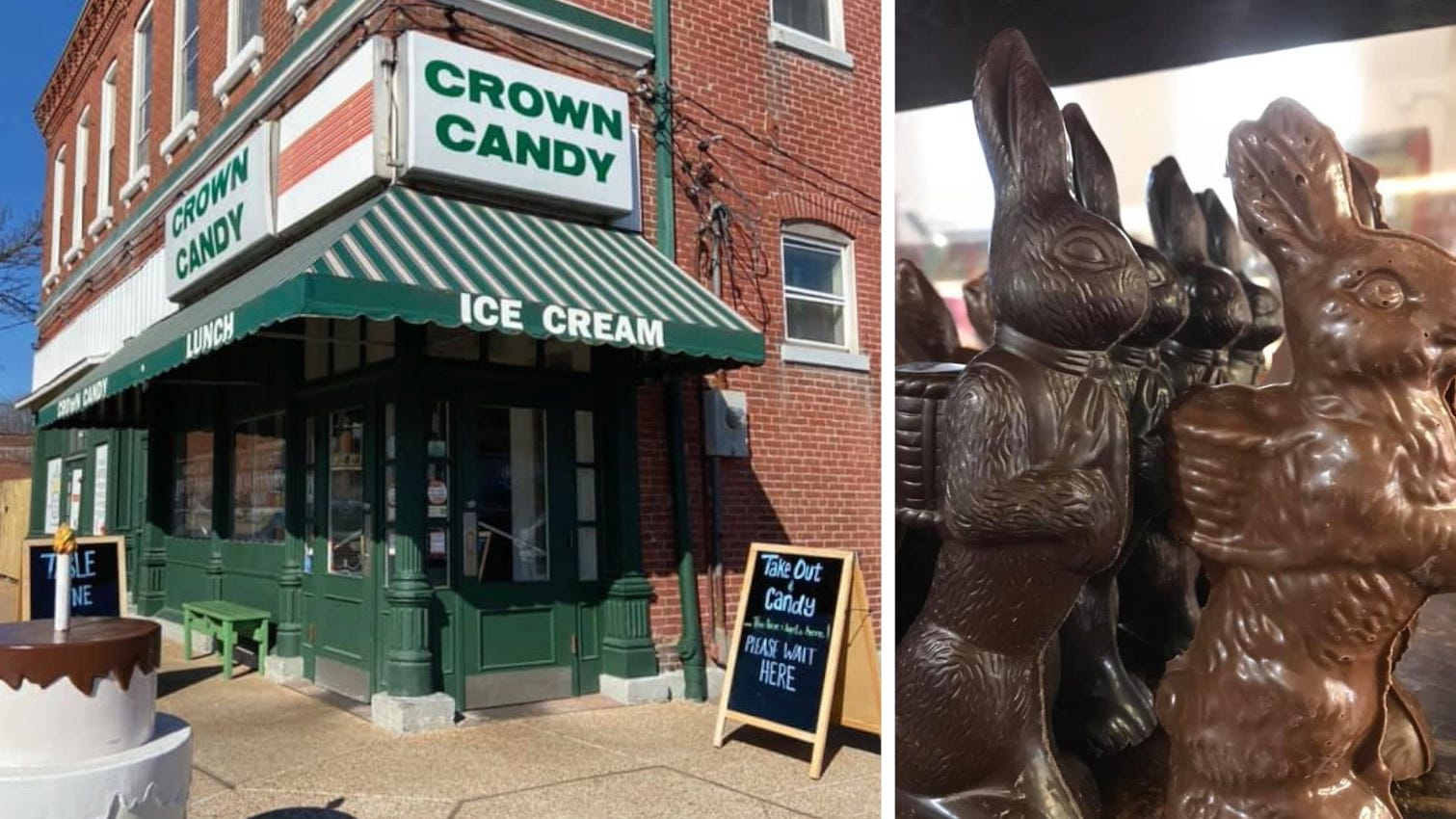 Crown Candy expects record-breaking sales of chocolate Easter bunnies