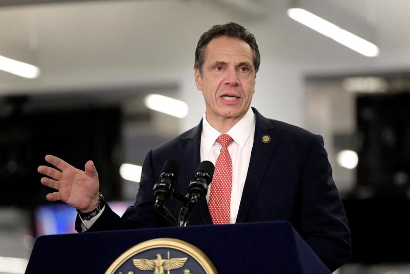 Governor Cuomo updates standoff with feds on WAMC Radio in Albany