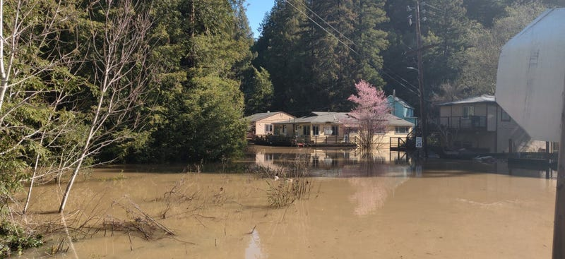 Flooding in Guerneville February 28, 2019