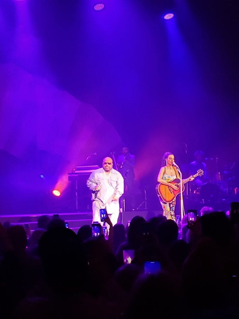 Kacey Musgraves & CeeLo Green at the Ryman 2.28.19