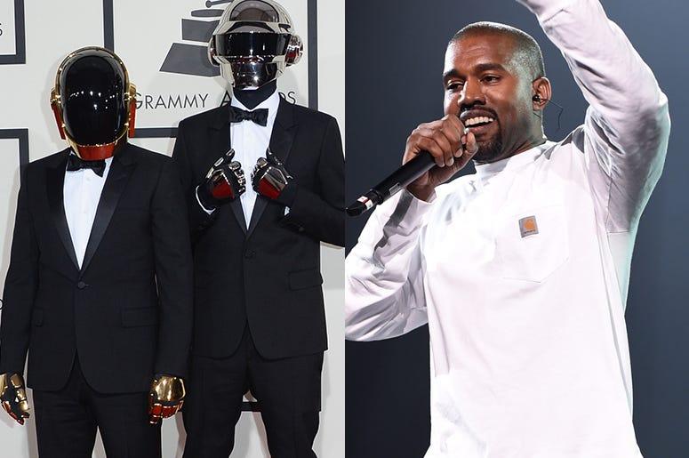 Daft Punk and Kanye West