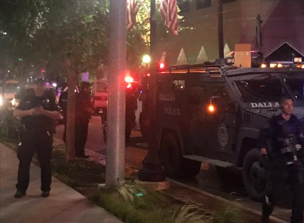 Dallas Police, Protest