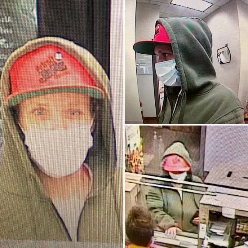 Dearborn Heights bank robbery suspect