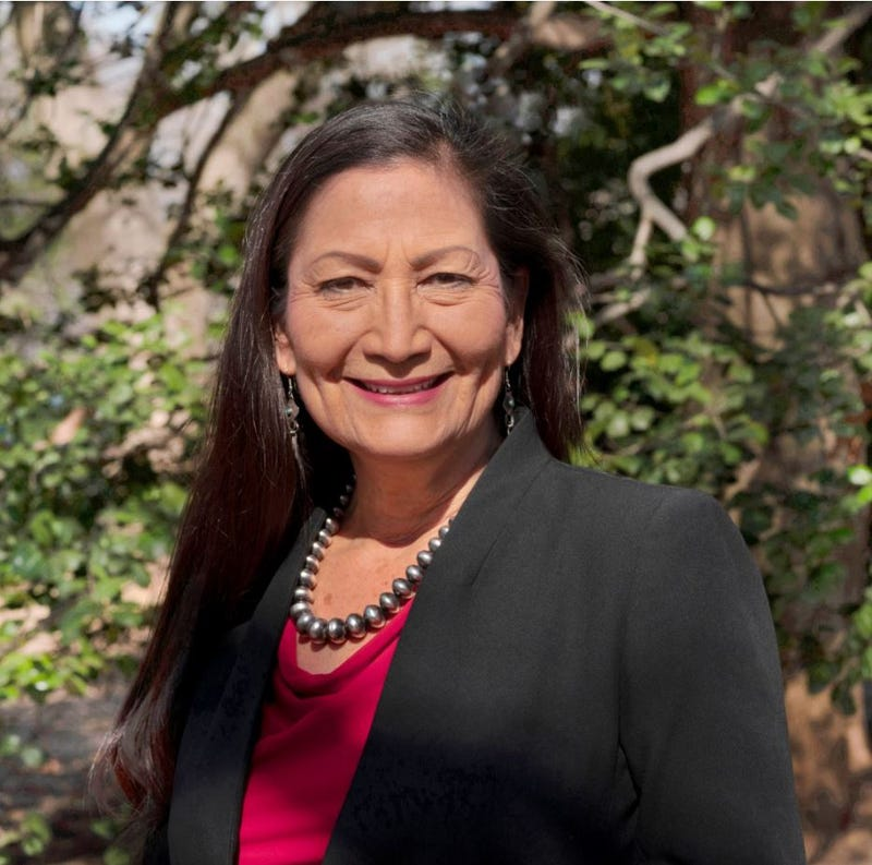 Deb Haaland was confirmed as U.S. Secretary of the Interior in March. She is a former Congresswoman representing New Mexico.