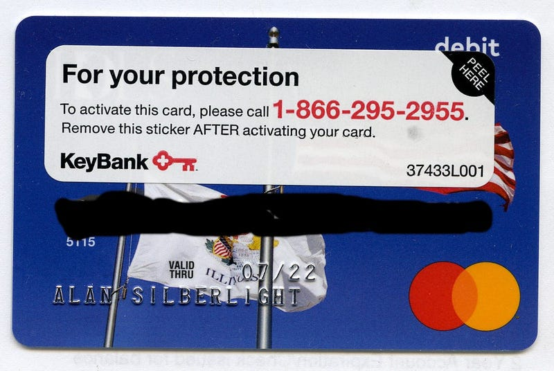 Wrong Debit Card Illinois IDES
