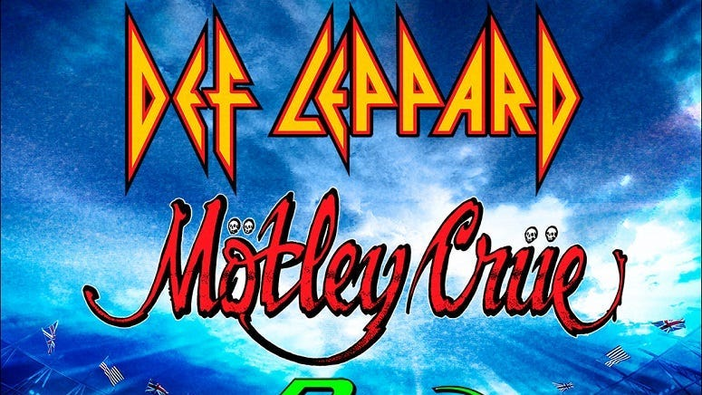 Def Leppard | Mötley Crüe | Poison | Joan Jett and the Blackhearts - RESCHEDULED
