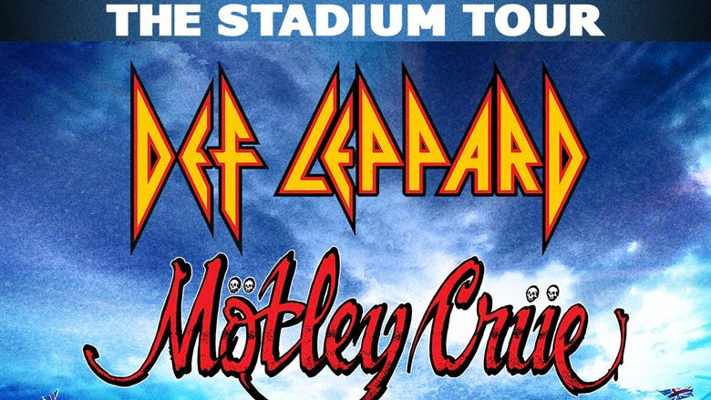 Def Leppard, Motley Crue: The Stadium Tour