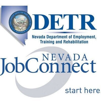 Logo for the Nevada Department Of Employment, Training and Rehabilitation